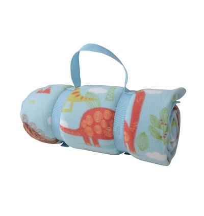 Yodo Picnic Mat Tikar Waterproof Foldable Blanket for Outdoor Family Beach Travel Cute Dinosaur Camping Mattress