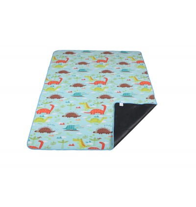 Yodo Picnic Mat Tikar Waterproof Foldable Blanket for Outdoor Family Beach Travel Cute Cartoon Car / Dinosaur Camping Mattress