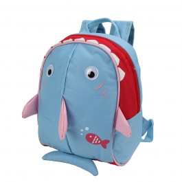 Yodo Baby Shark Bag Insulated Kids Lunch Boxes Carry Backpack / Preschool Toddler for Boys Girls