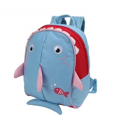Yodo Baby Shark Bag Insulated Kids Lunch Boxes Carry Backpack / Preschool Toddler for Boys Girls