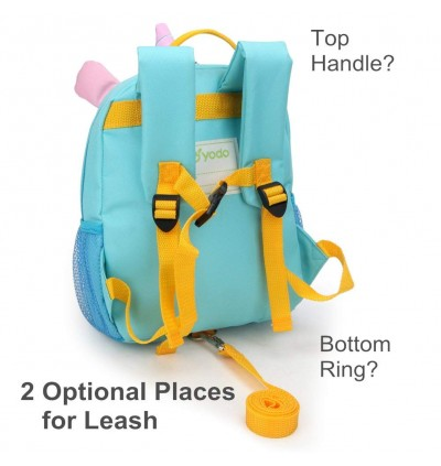 Yodo Harness Bag Anti Lost Convertible Playful Insulated Kids Lunch Boxes Carry Bag / Preschool Toddler Unicorn Backpack for Boys Girls