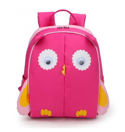 Yodo Harness Bag Anti Lost Convertible Playful Insulated Kids Lunch Boxes Carry Bag / Preschool Toddler Cute Owl Backpack for Boys Girls