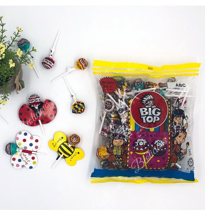 Lollipop with Cards