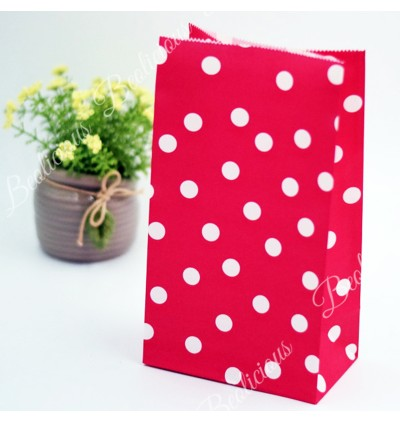 Polka Dots Paper Bag