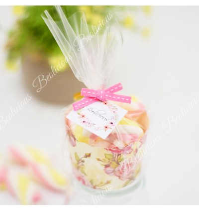 Mini Marshmallow Door Gift / Marshmallow Candy for Birthday Party / Wedding Door gifts / Kenduri Doorgift