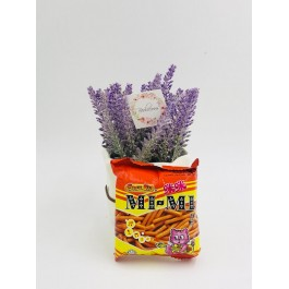 (10 Packs) Snek Ku Mimi Prawn Flavoured Snack for Kids