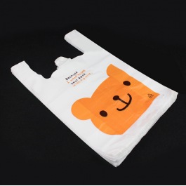 50pcs Cute Rabbit / Bear Plastic Bag for Kenduri, Birthday Party, Food and Event