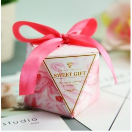 10pcs Diamond Candy Box For Wedding, Baby Shower, Birthday, Party Event Door Gift, Gift Box, Kotak Gula-Gula Kahwin